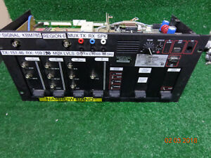 M a com Ge Harris Mastr Iii Vhf N Band Digital Radio Repeater Sxhmcx Rack Mnt 02
