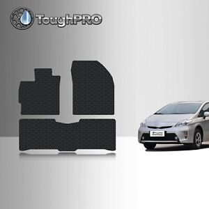 Toughpro Floor Mats Black For Toyota Prius All Weather Custom Fit 2010 2015