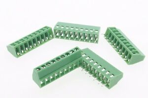 100 Terminal Blocks 2 54mm 0 1 9p Pcb Connectors Screw Type