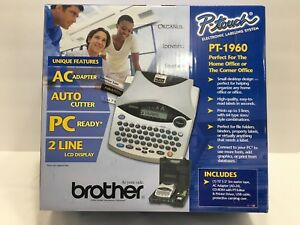 Brother Pt 1960 Usb Ready Electronic Labeling System New In Box