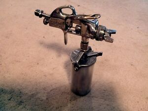 Vintage Binks Model 15 Spray Gun Paint Auto Body Touch Up Usa