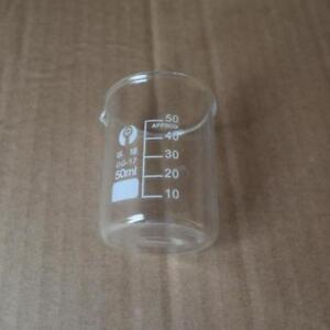 5ml 500ml Chemistry Laboratory Glass Beaker Borosilicate Measuring Tool X11