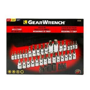Gearwrench 40 Pc Hex Torx Part 40424a