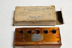 Gleason Gear Cutter Dp 14 Pa 14 5 Fin For 8 12 Bevel Generator New Old Stock