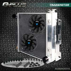 Aluminum Radiator For Jeep Wrangler Tj Yj V8 Conversion 9 Radiator Fan