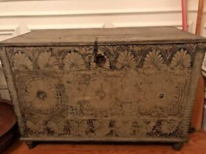 Antique Indian Dowry Chest