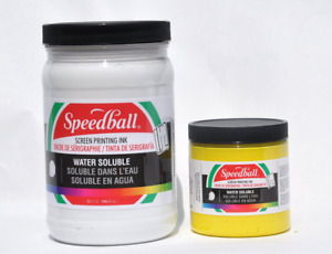 Speedball 4583 Non toxic Non flammable Water Soluble Screen Printing Ink 1 Quar