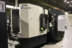 Makino A71 4 axis Cnc Horizontal Machining Center B37439
