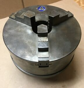 Tos Czech Made 8 3 jaw Lathe Chuck 200 3 M1 6 No 113051 Attach Posts New