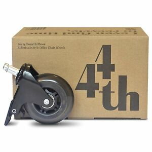 Herman Miller Embody Locking Casters Rollerblade Heavy Duty set Of 5