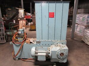 Wood Plastic Crusher Grinder Richmond Machine 25 Hp