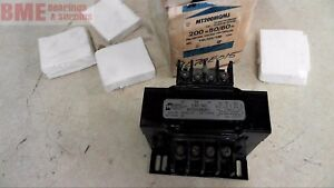Hammond Manufacturing Mt200mqmj Transformer 200 Va 50 60 Hz