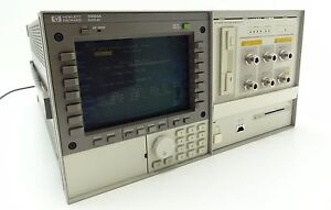 Hp 70004a Spectrum Analyzer Display Mainframe W Hp 70841b Pattern Generator