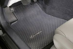 Clear Vinyl Floor Mats Protectors Front Only Custom Fit Aston Martin