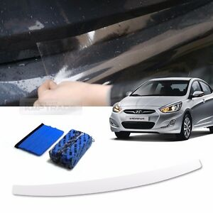 Bumper Anti Scratch Protector Film Spf Scraper Clay Bar For Hyundai 11 17 Verna