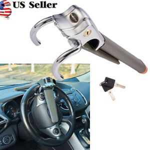Universal Auto Car Anti theft Security Steering Wheel Lock Top Mount Car Lock