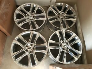 20 Inch Ford Explorer Wheels Rims Oem Factory Used no Tires Just Rims