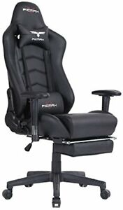 Large Size Office Desk Chair Swivel Black Gaming Chair Lumbar Massage Support