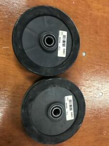Wacker Neuson Floor Saw Bfs 1345 Genuine Rear Plastic Wheels X 2 0204350