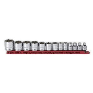Gearwrench 13 Piece 3 8 Inch Drive 6pt Socket Set Sae Part 80553 C1