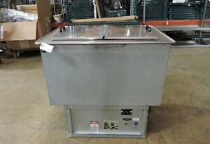 Atlas Metal Wdf 2 Commercial Self Contained Drop In Ice Cream Freezer