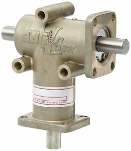 Andantex R3100 2 Anglgear Right Angle Bevel Gear Drive Universal Mounting Two