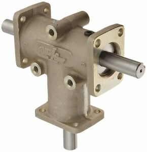 Andantex R3303 Anglgear Right Angle Bevel Gear Drive Universal Mounting Two 3