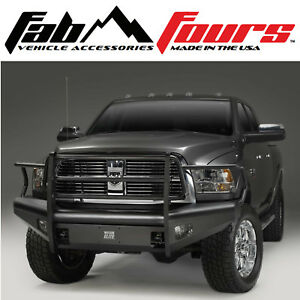 Fab Fours Elite Full Guard Ranch Front Bumper Fits 2010 2018 Dodge Ram 2500 3500