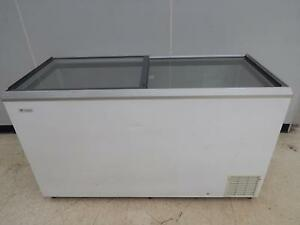 Caravell Chest Freezer With Sliding Glass Top 59 Wide