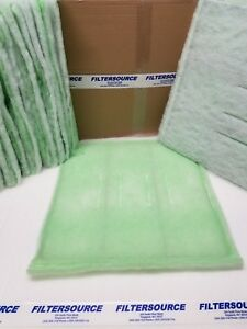 Paint Spray Booth Filters 20x20 Tacky Intake Filter Set 20 Case