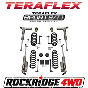 Teraflex 07 18 Jeep Wrangler Jk 2 Door Sport S T1 Suspension Lift W 3 3 Falcons