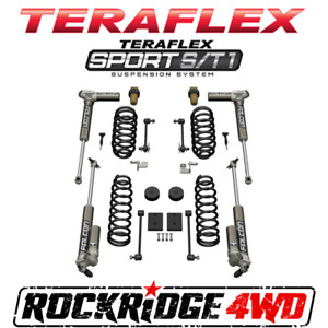 Teraflex 07 18 Jeep Wrangler Jk 4 Door Sport S T1 Suspension Lift W 3 1 Falcons