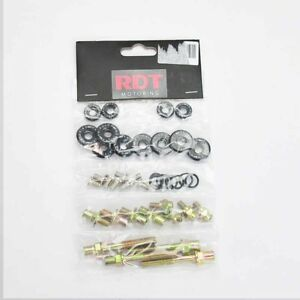 B16a B18c Dohc Vtec Gsr Type R Black Engine Valve Cover Bolt Washer Dress Kit