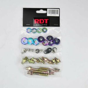 B16a B18c Vtec Gsr Type R Neo Chrome Engine Valve Cover Bolt Washer Dress Kit