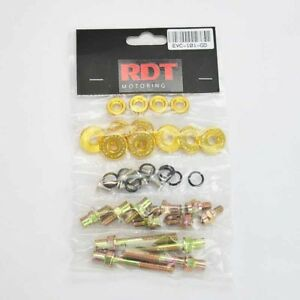 B16a B18c Dohc Vtec Gsr Type R Gold Engine Valve Cover Bolt Washer Dress Kit
