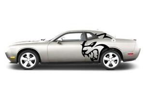 Dodge Challenger Srt Vinyl Decal Sticker Graphic Wrap Hellcat Stripe Hell Cat