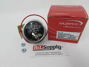 Murphy 100 Psi Oil Pressure Gauge 20p 100 Construction Equipment Wood Chippers