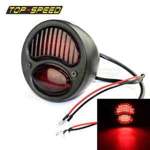 Cafe Racer Led Taillight Lamp Custom For Ford Model A Duolamp 1928 31 Harley New