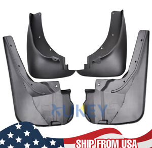 4pcs Mud Flaps Splash Guards For Ford Explorer 2011 2018 Front And Rear
