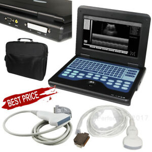 Laptop Ultrasound Scanner Machine Cms600p2 2 Probes Linear Convex us Seller