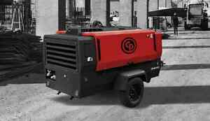 2018 400 Cfm 150 Psi Portable Diesel Air Compressor Chicago Pneumatic Cps400 T4f