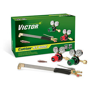 0384 2694 Victor Cutter St411c Torch Kit Set With Regulators