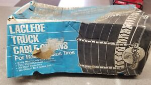 Laclede Truck Tire Cable Chains 2033 ltc