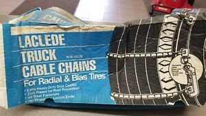 Laclede Truck Tire Cable Chains 2041 tc