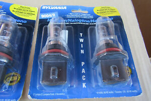 20 9004 Sylvania Halogen Head Lights 65 45 Watts 10 Blister Packs Of 2 pst