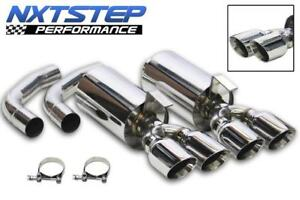 C4 Corvette 1992 1996 Nxtstep Performance Axle Back Exhaust System