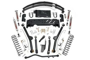 Rough Country 4 5 Jeep Long Arm Suspension Lift Kit 84 01 Xj Cherokee 61722