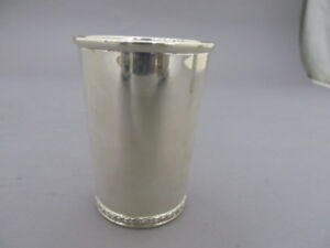 Manchester Sterling Silver Mint Julep Cup