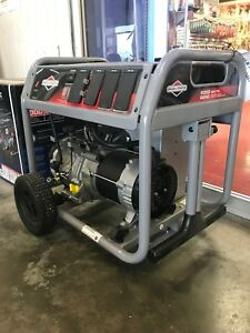 5000 Watt Briggs And Stratton Portable Generator