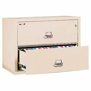 Fireking 2 Drawer Lateral File Cabinet